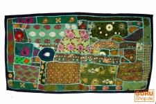 Patchwork Wandbehang, Wandteppich, Einzelstück