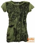 Sure T-Shirt Buddha - olive