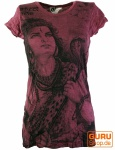 Sure T-Shirt Shiva - bordeaux