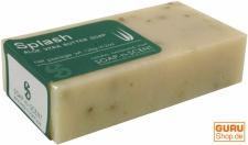 Handgemachte Aloa Vera Butter Seife, Splash, 120 g, Fair Trade