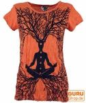 Sure T-Shirt Meditation Chakra Buddha - rostorange