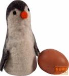 Filz Eierwärmer `Pinguin`