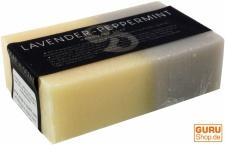 Handgemachte Duftseife, Lavendel-Pfefferminz, 100 g, Fair Trade