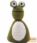 Filz Eierwärmer - Frosch fancy