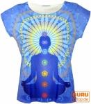 Psytrance T-Shirt, Yoga T-Shirt, Retro T-Shirt - 7 Chakra