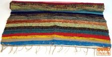 Derber upcyceling Flickenteppich, Patchworkteppich 180*95 cm