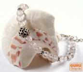 Mala Armband Rosenquarz