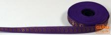 Orient Bordüre, Webband aus Indien 1, 5 cm breit 1m