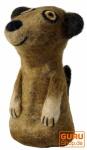 Filz Eierwärmer - Erdmännchen braun
