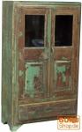 Antiker Glasschrank, Vitrine