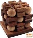 Tic-Tac-Toe 3D, Holzspiel