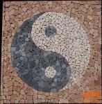 Ying-Yang Mosaik Ensemble (90*90 cm) - Design 3