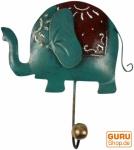 Kleiner Garderobenhaken, Metall Kleiderhaken - dicker Elefant