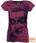 Sure T-Shirt Buddha - bordeaux