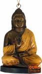 Klangspiel mit Buddha gelb