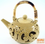 Exotische Teekanne aus Keramik