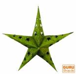 Stern Lichterkette Mini - grün