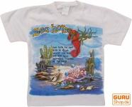 Kinder T-Shirt Hippie Goa mit`Seepferd`