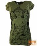 Sure T-Shirt Meditation Buddha - olive
