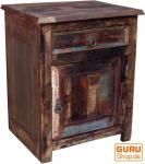 Vintage Beistellschrank, Kommode, Nachttischschrank, Flurschrank - Modell 1