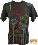 Pure T-Shirt Jellyfish - anthrazit