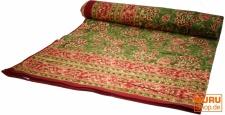 Blockdruck Tagesdecke, Bett- Sofaüberwurf, handgearbeiteter Wandbehang, Wandtuch Nr. 102