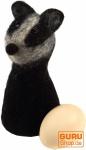 Filz Eierwärmer - Waschbär