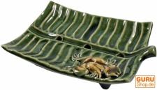 Keramik Seifenschale `Blatt`