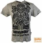 Sure T-Shirt Tribal Ganesha - grau