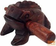 Klangfrosch braun - 8 cm