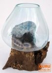Wurzelholz Vase ca. 50 cm - 19