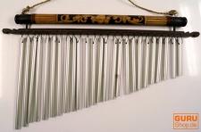 Aluminium Klangspiel, Windspiel mit Bambus