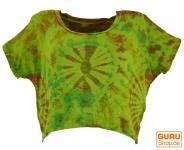 Batik Hippie T-Shirt - lemon