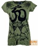 Sure T-Shirt Lotus - Om - olive