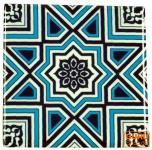 2er Set Kühlschrankmagnet Orient - Design 11
