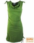 Goa Minikleid Boho-chic, Sommerkleid, kurzes Kleid - lemon