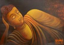 Gemälde auf Leinwand Buddha 70*100 cm