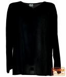 Yoga Hemd, Goa Hemd - schwarz