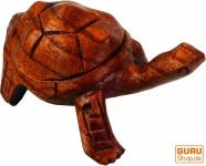 Geschnitzte Deko Schildkröte