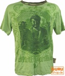 Weed T-Shirt Buddha - grün