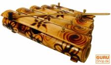 Tisch Klangspiel, Musik Percussion Rhythmus Klang Instrumente aus Bambus - Modell 3