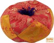 Klangschalen Kissen rot-orange