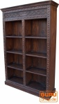 Aufwendig verziertes Bücherregal im Vintage Look - Modell 6