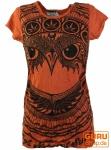 Sure T-Shirt Eule - orange