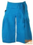 Shorts Boho-chic - blau
