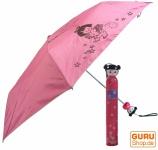 Regenschirm aus der Flasche `Dolly` in 5 Varianten