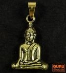 Buddha Kettenanhänger aus Messing