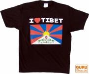 Free Tibet Goa T-Shirt Größe M - 11