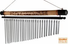 Aluminium Klangspiel, Windspiel mit Bambus - Variante 8