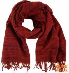 Weicher Goa Schal - rot